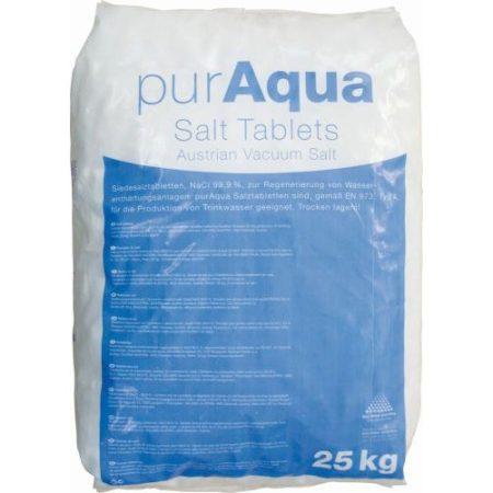 C.C.PurAqua regeneráló sótabletta, 25KG