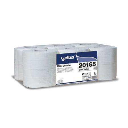 Celtex 20.165 WC papír, MINI, 2 rétegű, 100% puracell.160 méter, d19, 12 tek/cs