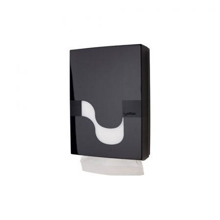 Celtex Adagoló Interfold hajtogatott kéztörlőhöz, fekete - bemutatótermi