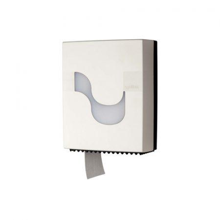 MEGAMINI Wc papír adagoló, Mini Jumbo, fehér