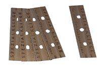 10 cm-es kaparóhoz való penge (10 db/csomag)