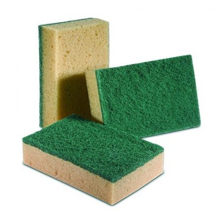 Dörzsis szivacs, zöld-barna