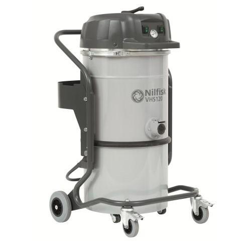 Nilfisk VHS 120 ALL-IN-ONE egyfázisú ipari por- és vízszívó tisztatér felhasználási területekre