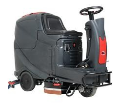 Nilfisk Viper AS710 R ráülős súroló-vízfelszívó automata ( beépített töltővel, akkumulátorral, 2db kefével és 2 db pad-tartóval)