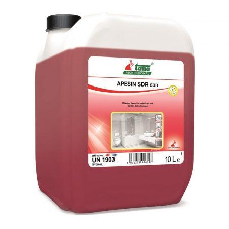 Tana APESIN SDR San 10L Fertőtlenítő tisztító szaniter felületekhez
