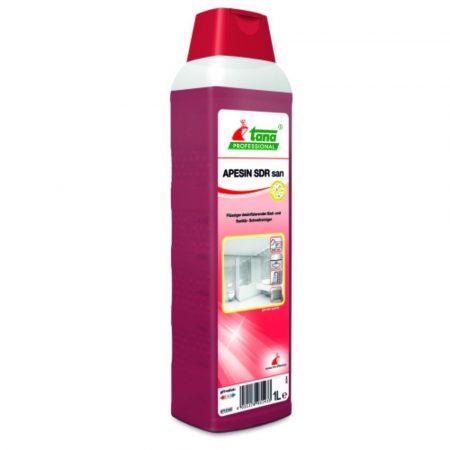 Tana APESIN SDR San 1L Fertőtlenítő tisztító szaniter felületekhez