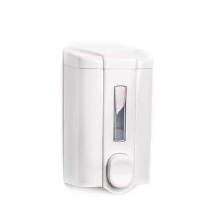 Vialli Folyékony szappan adagoló - fehér, ABS ablakos 1L